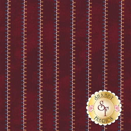 Americana II C5234-RED by Carrie Quinn for Penny Rose Fabrics