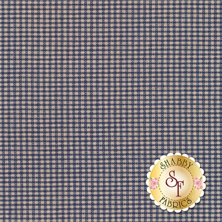 Americana C4776-Navy Gingham by Carrie Quinn for Penny Rose Fabrics