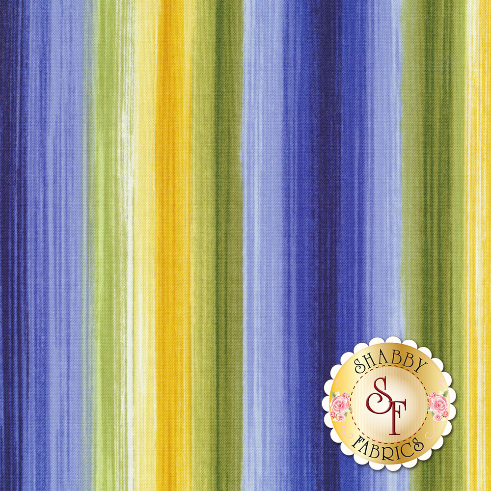 Angelica C6362-Bright Watercolor Stripe for Timeless Treasures Fabrics