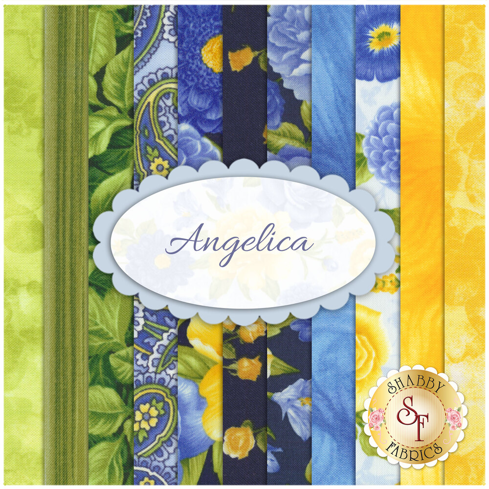 Angelica 11 FQ Set for Timeless Treasures Fabrics