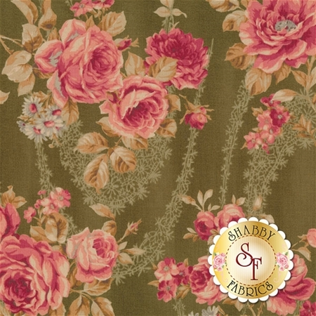 Antique Rose Spring 2016 31297-60 by Lecien Fabrics