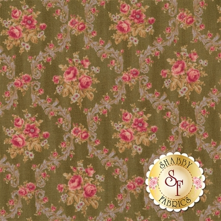 Antique Rose Spring 2016 31299-60 by Lecien Fabrics