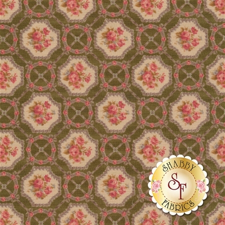 Antique Rose Spring 2016 31300-60 by Lecien Fabrics