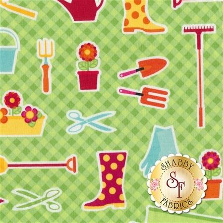 Anna's Garden SPR63800-8690715 by Patrick Lose Fabrics