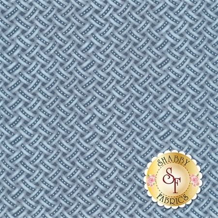 Anne of Green Gables C5867-BLUE Weave Blue by Penny Rose Fabrics