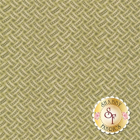 Anne of Green Gables C5867-GREEN Weave Green by Penny Rose Fabrics REM C