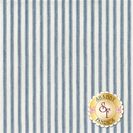 Anne of Green Gables C5868-Blue Ticking Blue by Penny Rose Fabrics