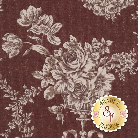 Antique Rose 31152-80 by Lecien Fabrics