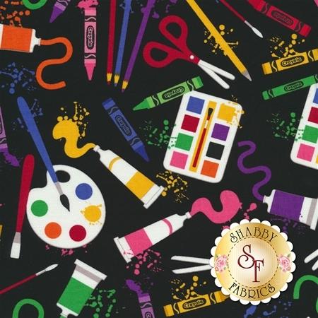 Art Box C6620-BLACK by Crayola for Riley Blake Designs