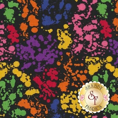 Art Box C6623-BLACK by Crayola for Riley Blake Designs