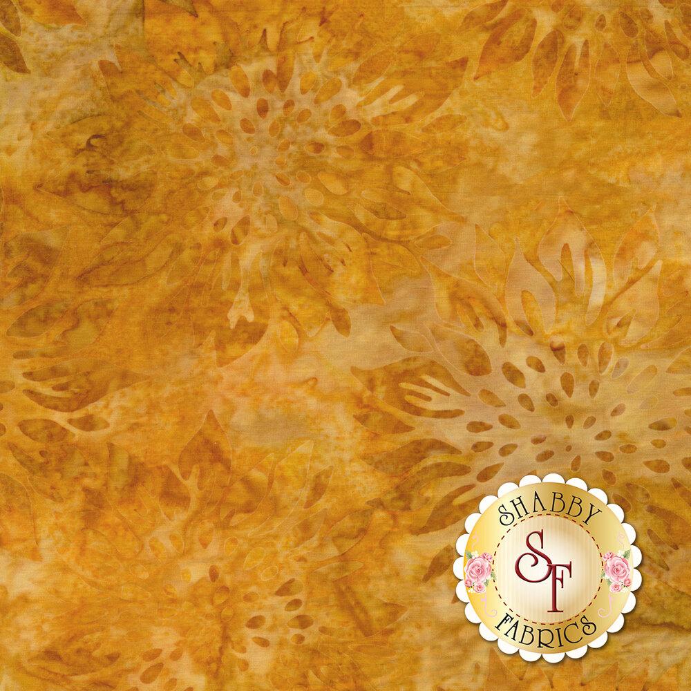 Tonal orange/yellow sunflower design | Shabby Fabrics