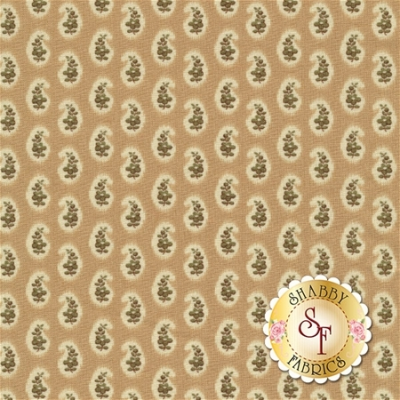 Ashford 24551-AG Tan/Olive by Quilting Treasures