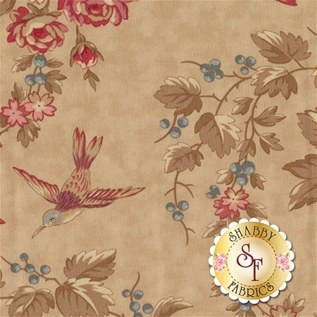 At Home 2790-12 Vanilla Ice Cream by Blackbird Designs for Moda Fabrics