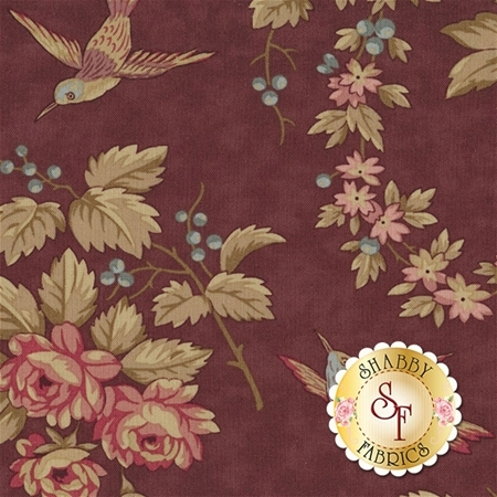 At Home 2790-14 Wild Berries by Blackbird Designs for Moda Fabrics