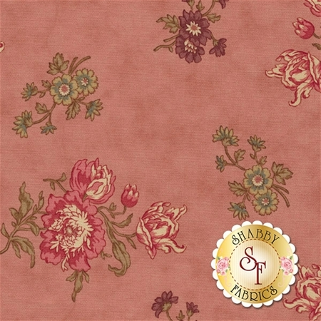 At Home 2791-16 Rose Garden by Blackbird Designs for Moda Fabrics