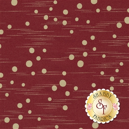 At Home 2794-11 Red Geranium by Blackbird Designs for Moda Fabrics