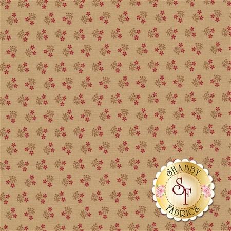 At Home 2796-12 Vanilla Red by Blackbird Designs for Moda Fabrics
