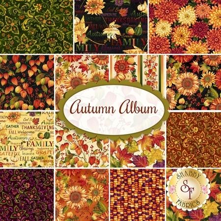 Autumn Album  Yardage by Henry Glass Fabrics