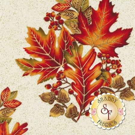 Autumn Leaves 5430M-07 by Benartex Fabrics