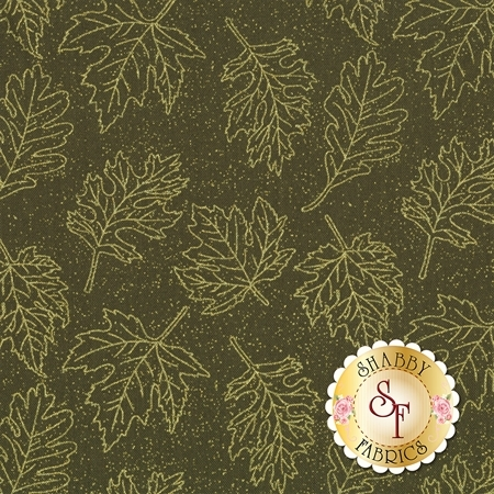 Autumn Leaves 5435M-45 by Benartex Fabrics