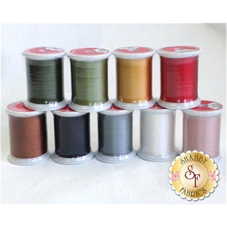 Blessings of Christmas BOM - 9pc Silk Thread Kit