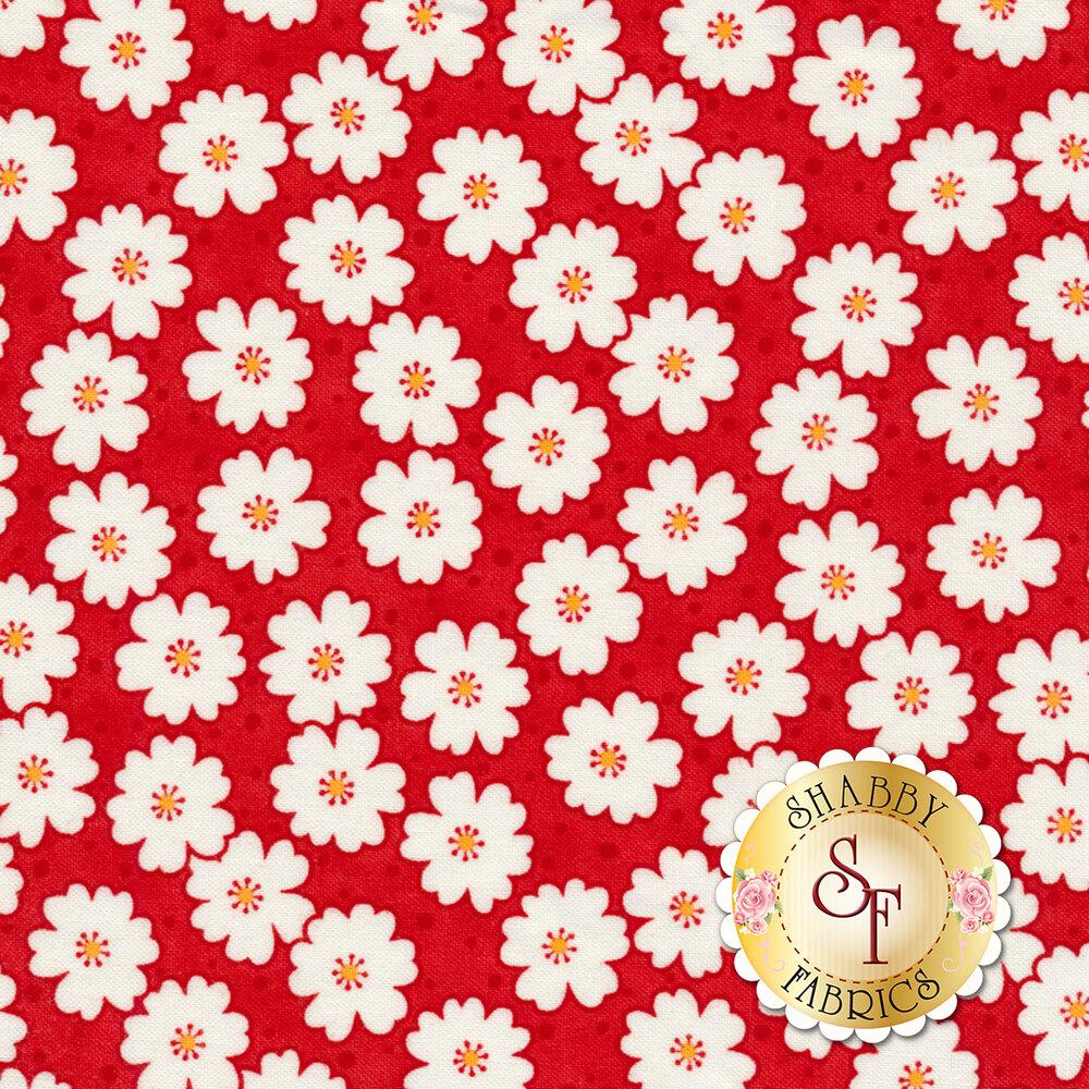 Badda Bing! 22346-11 Cherry Blooms Red from Moda