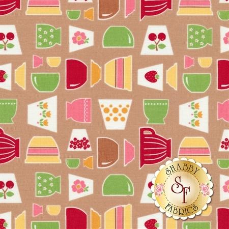 Bake Sale 2 C6980-NUTMEG by Lori Holt for Riley Blake Designs