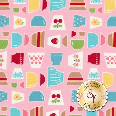 Bake Sale 2 C6980-PINK by Lori Holt for Riley Blake Designs