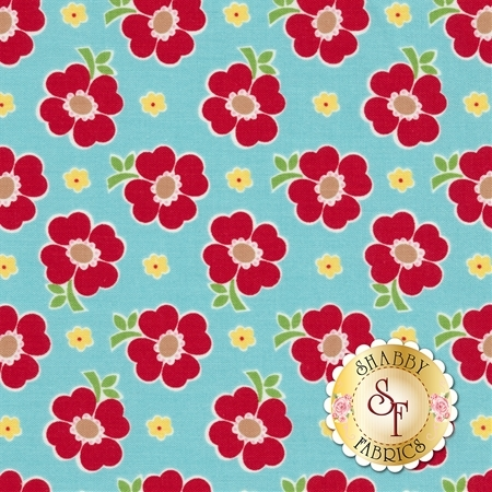 Bake Sale 2 C6983-AQUA by Lori Holt for Riley Blake Designs