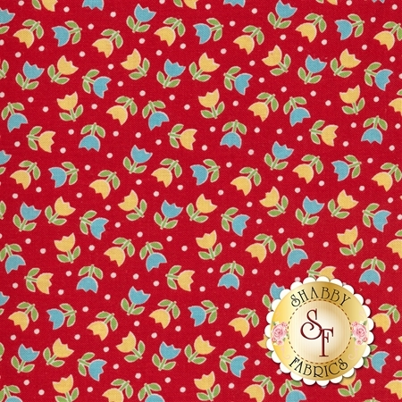 Bake Sale 2 C6984-RED by Lori Holt for Riley Blake Designs