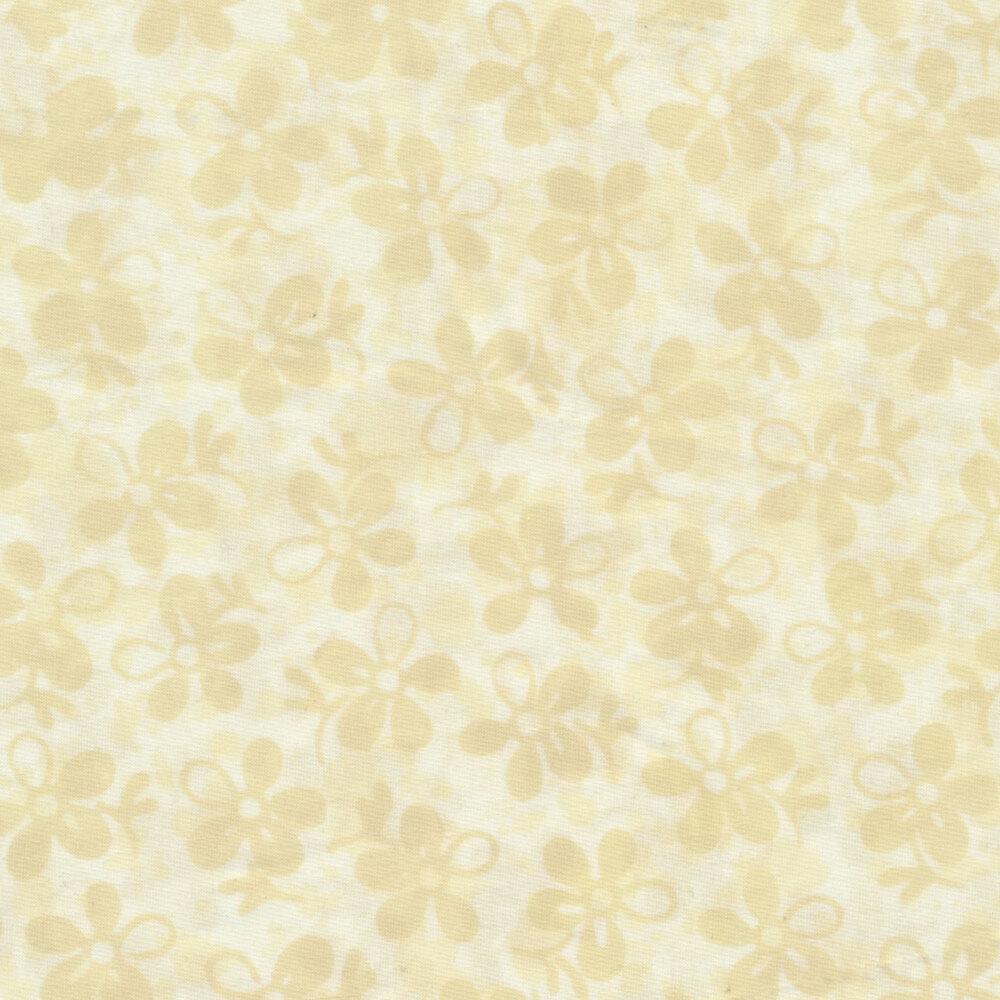 Baker's Dozens Batiks Batiks 8795-L Linen Flowers from Laundry Basket Quilts