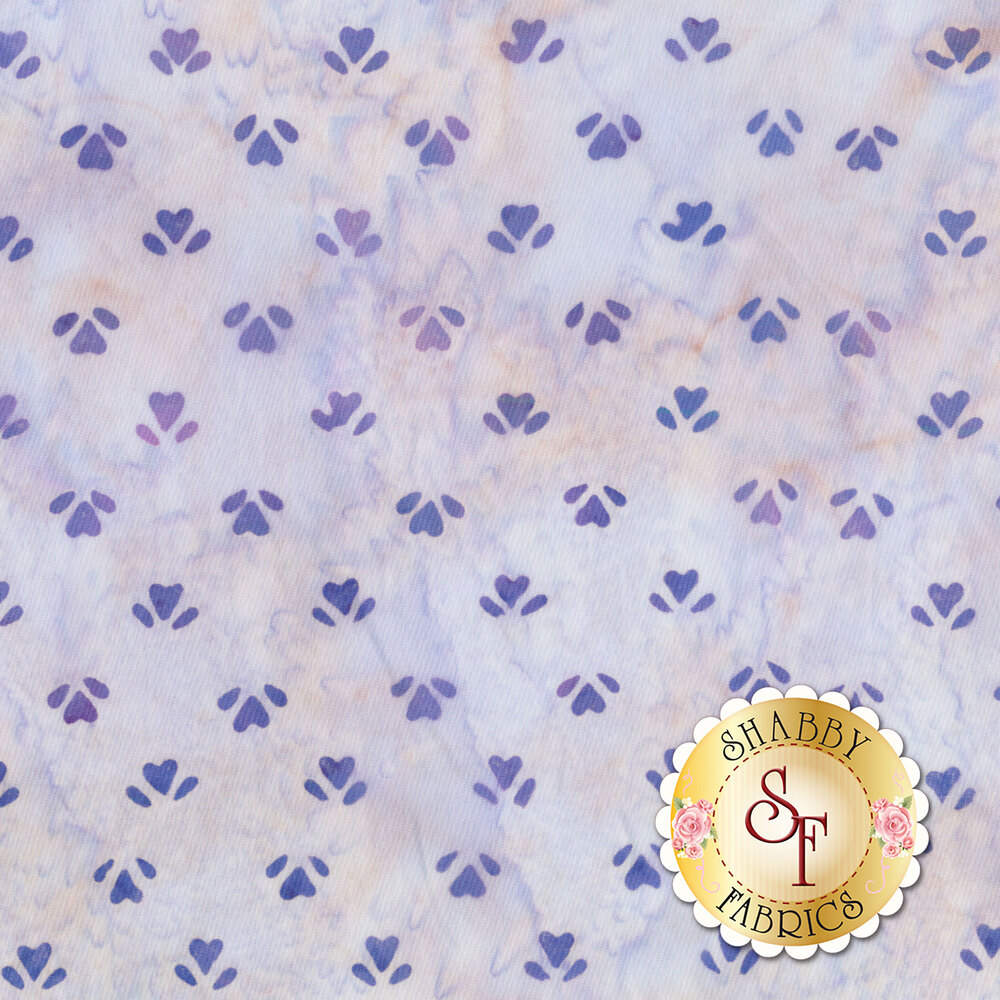 Bali Batiks Purple Q2152-120 Hyacinth by Hoffman Fabrics