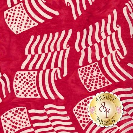 Bali Batiks 2017 P2981-75 Peppermint by Hoffman Fabrics