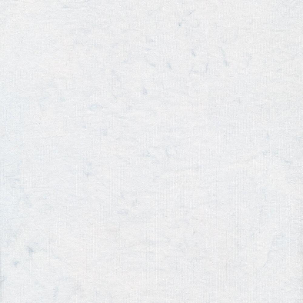 Mottled white batik | Shabby Fabrics