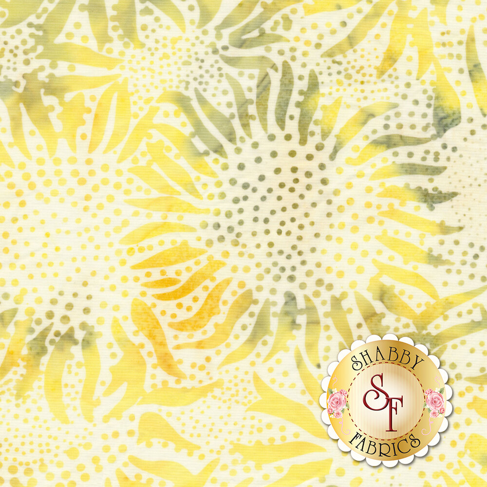 Bali Batiks 884-351 Sunflower Sunny for Hoffman Fabrics California International