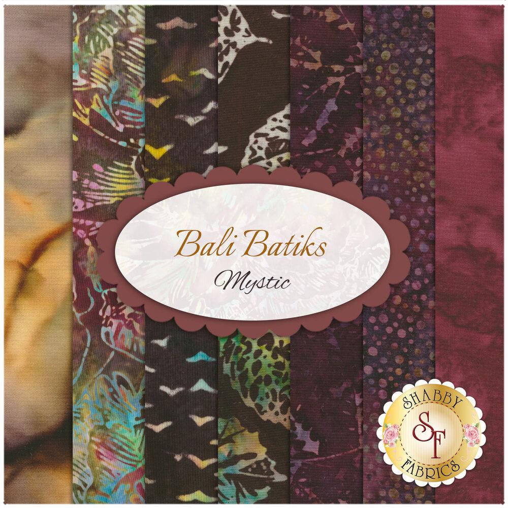 Bali Batiks  8 FQ Set - Mystic from Hoffman Fabrics