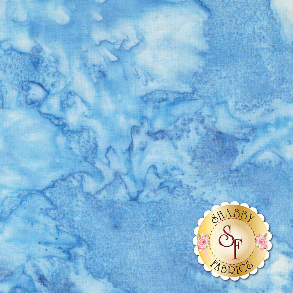 Light blue marbled collection