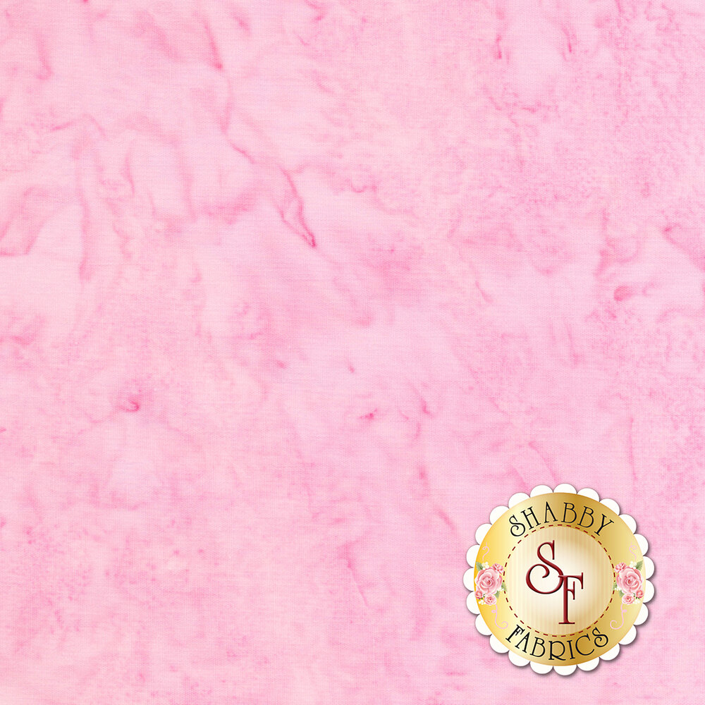 Pink marbled fabric