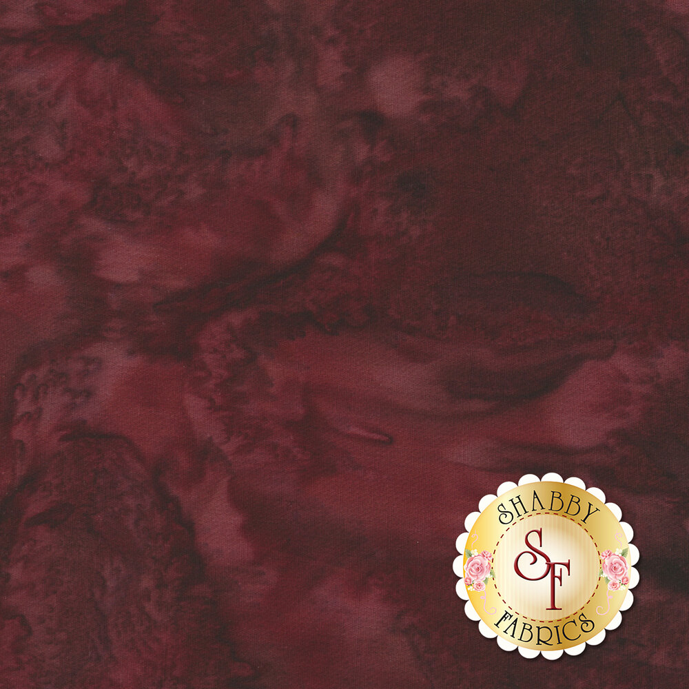Maroon marbled fabric
