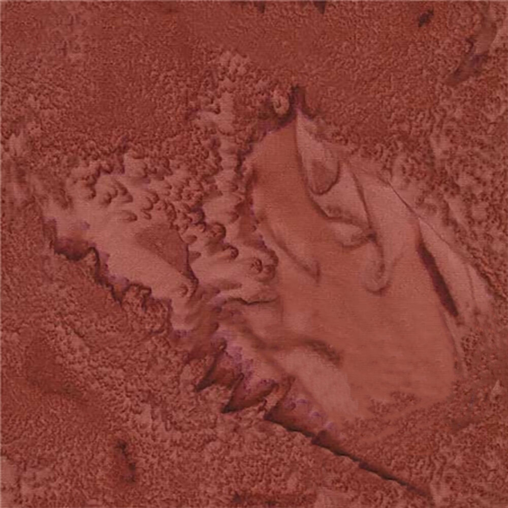 Reddish brown marbled fabric