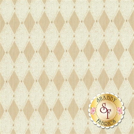 Barber Shop 10132-07 Black Diamond Natural by Bristol Bay Studios for Benartex Fabrics