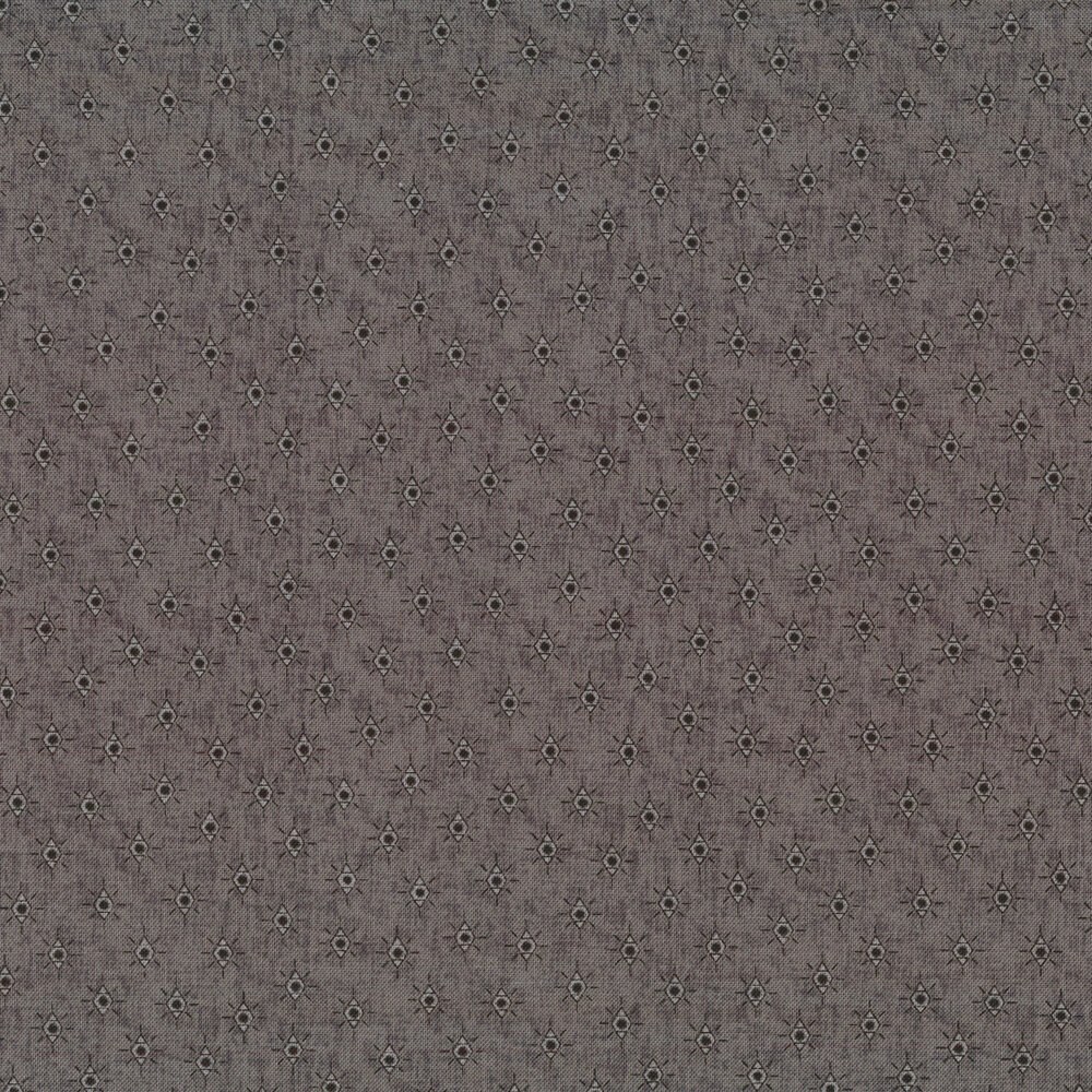 Tonal diamonds on blue | Shabby Fabrics