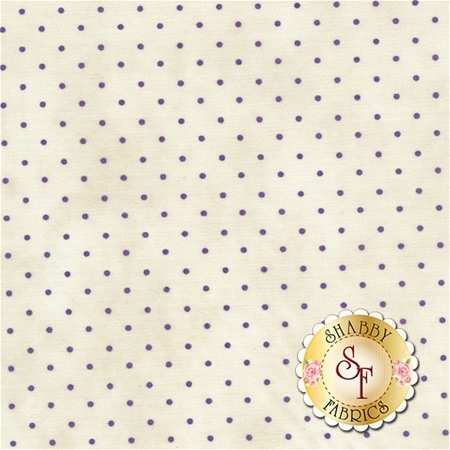 Small dark tan polka dots on a white background