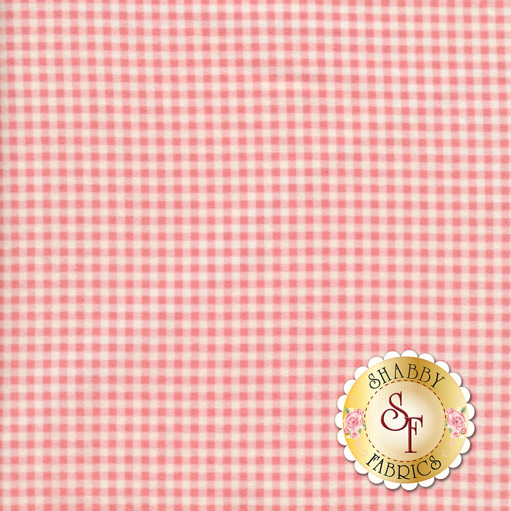 Wild Rose Flannel F610-P2 by Marti Michell for Maywood Studio