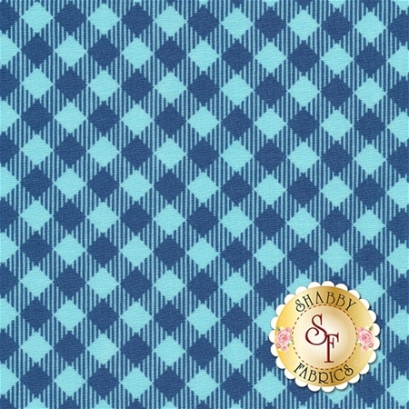 Bee Basics C6400-BLUE by Lori Holt from Riley Blake Designs