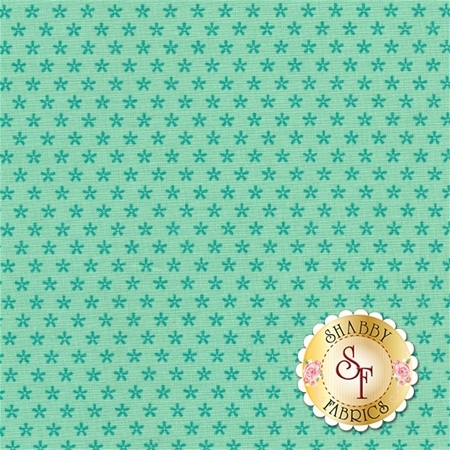 Bee Basics C6403-TEAL by Lori Holt from Riley Blake Designs