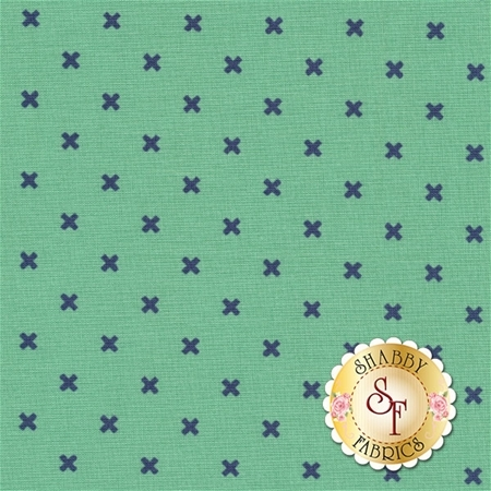 Bee Basics C6410-TEAL X Teal by Lori Holt from Riley Blake Designs