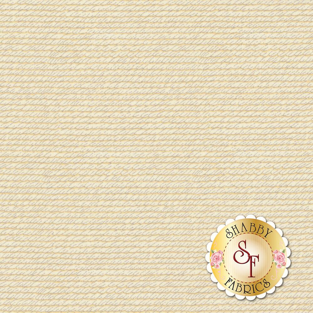 Cream textured print | Shabby Fabrics