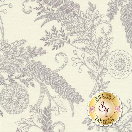 Bee Inspired 19794-18 Laurel White by Deb Strain for Moda Fabrics REM