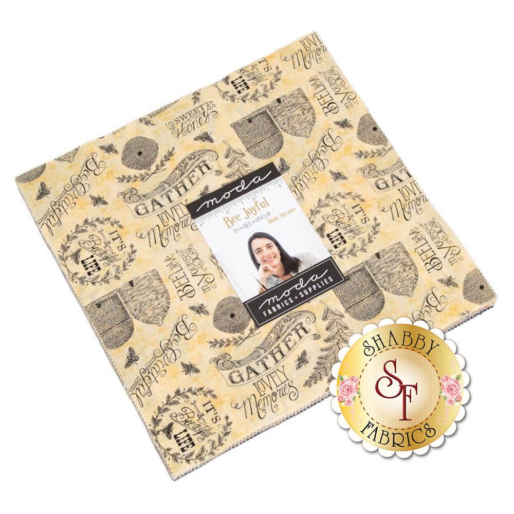 Bee Joyful Layer Cake by Moda Fabrics available at Shabby Fabrics